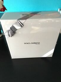 DOLCE & GABBANA THE ONE MENS EDT AND AFTERSHAVE BALM BOXSET BRAND NEW RRP £55