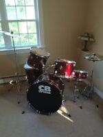 Barely Used Drum Set