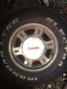 2002 gmc rims and tires