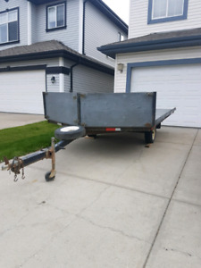 Two place sled/ utility trailer
