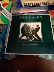 Van Halen -Women and Children First vinyl lp record