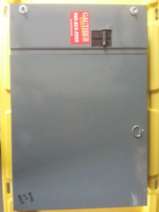 100A Fuse Panel with main breaker