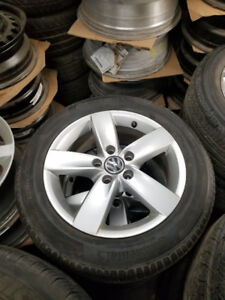205 55 16 Michelin Defender on OEM VW Golf Jetta rims 5x114