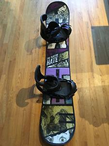 NEW 155 Burton Snowboard With Burton bindings