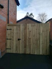 Fences, new fence, gate, security improvement