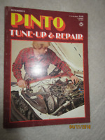 1979 Ford Pinto Tune up & repair manual service shop etc