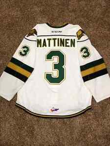 London Knights AHL NHL Game Worn Jersey's For Sale London Ontario image 2