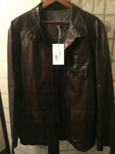 NEW Leather Jacket / Manteau de Cuire M0851 Made in Canada