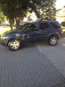 2001 Ford Escape With 4x4
