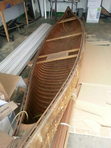 1950's Chestnut pleasure Model Canoe-unfinished