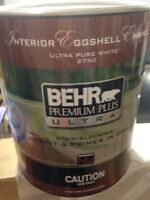 High end behr paint + primer