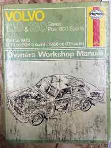 Volvo 120 & 130 Owners Shop Manual