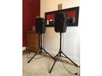 Active speakers, mobile DJ, why rent if you can buy ?