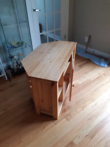Corner TV and media stand for sale.