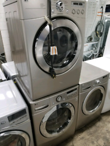 "STACKABLE 27"" LG WASHER & DRYER"