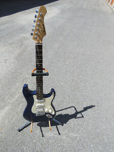 Aria Pro II   Strat Style Electric Guitar Peterborough Peterborough Area image 1