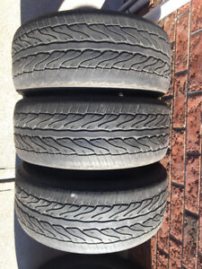 3 Zeta Azura - 235/50/18 - 50% - $20 FOR ALL 3 TIRES