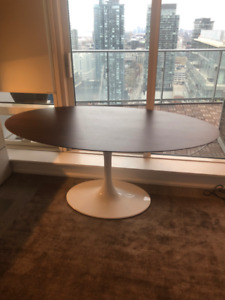 25% Off BRAND NEW Larkson Oval Walnut Top Table