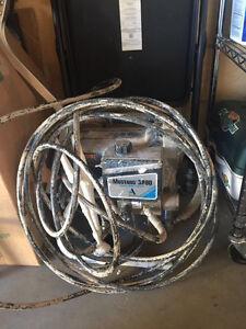 Mustang 3800 spraying machine