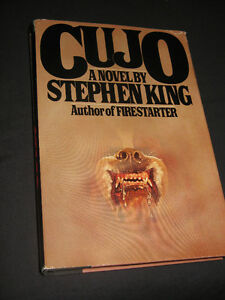 (2)  Stephen King HARDCOVERS Cujo & Fire Starter LIKE NEW