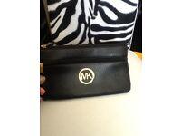 Michael kors flat pouch purse new