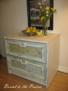 Night Table Rescue!*Chalk Painted! Upcycled! Unique $55