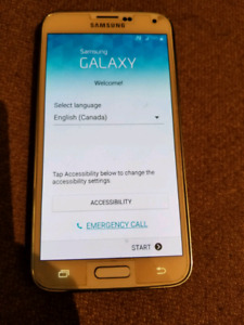 Bell/Virgin Samsung Galaxy S5