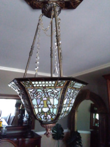 Tiffany hanging ceiling  light lamp