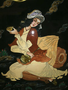 Marquetry (inlay) artworks