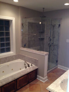 Shower Walls ,Shower Bases , Vanity Tops and More Stratford Kitchener Area image 7