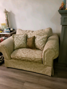 Couch and armchair
