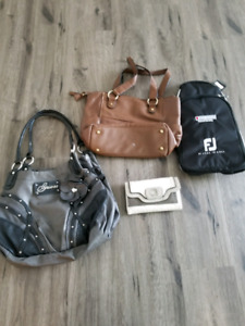 Purses / wallet/ golf shoe bag