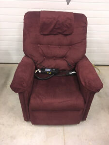 Pride Lift Chair with massage and heat