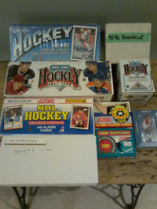 OPC Upper Deck Pinnacle Ultimate Score Hockey Card Sets