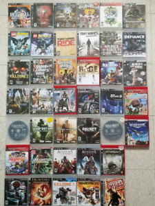 PS3 Video Games - $5 and up.