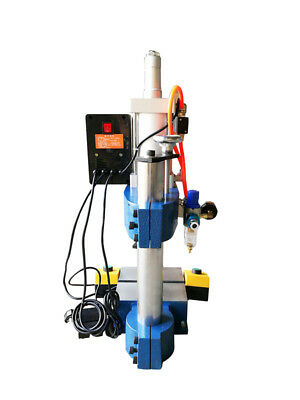 Newest Pneumatic Press 100 To 50 Adjust300kg1pc2 Buttons110v Punch Machin