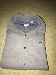 Lacoste men's long sleeve shirt (medium)