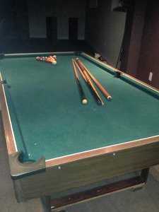 Pool table and accessories need gone asap