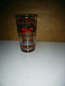 Olympic and Christmas glasses