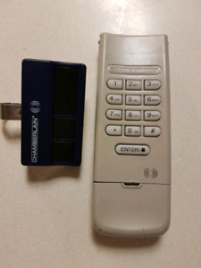 Chamberlain keyless entry and remote opener