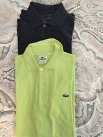 Lacoste Polo and Sweater size M and L