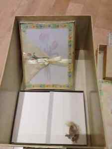Floral Folder Box with Matching Writing Supplies Peterborough Peterborough Area image 3