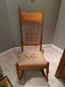 Rare antique rocking chair