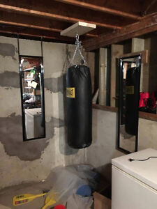 Heavy Bag with gloves