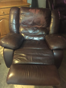 Comfortable Leather Recliner