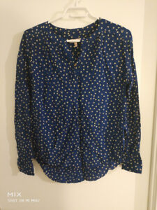 Juicy Couture Navy Shirt 80%new