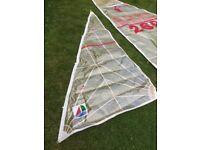 Heron Dinghy Kevlar sails