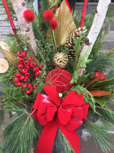 Christmas Planters/Urn Outdoor decorations