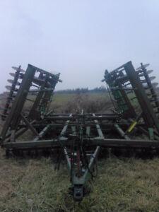 John Deere 722 mulch tiller