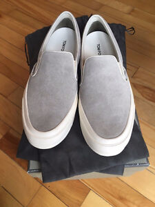 NEW in box Tom Ford Slip on Sneakers Grey